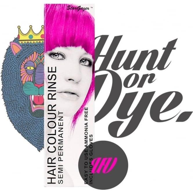 Stargazer Semi Permanent Hair Dye - UV Pink