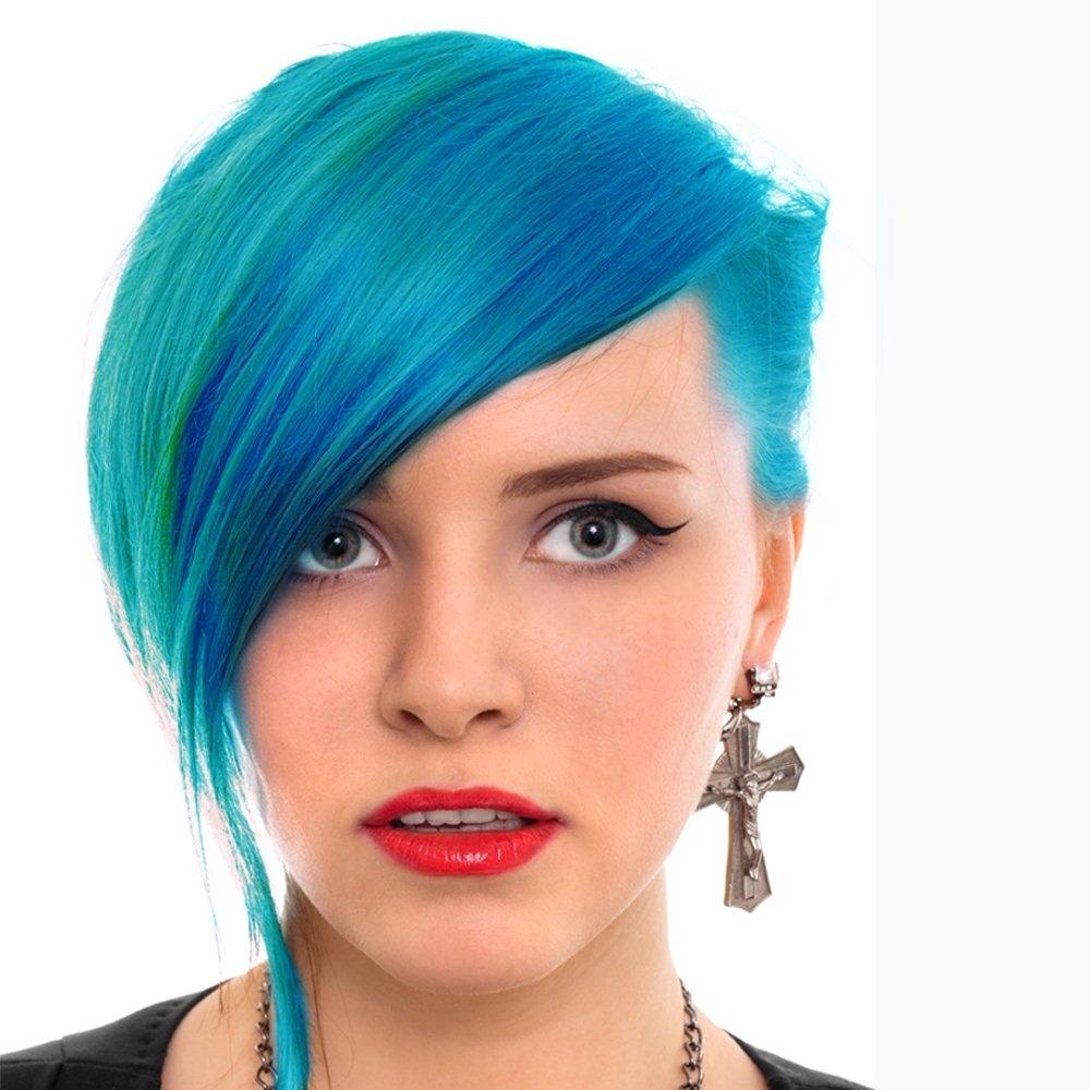 Turquoise Hair Dye Manic Panic