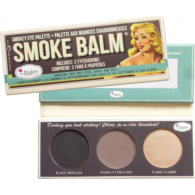 TheBalm Smoke Balm Smokey Eye Makeup Palette (x3 Set) - Volume 1