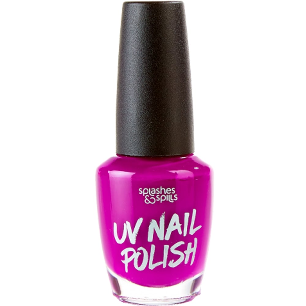Splashes & Spills Halloween Nail Polish - UV Purple 13ml