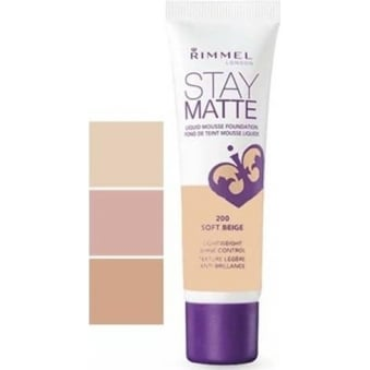 Stay Matte Liquid Mousse Foundation 30ml