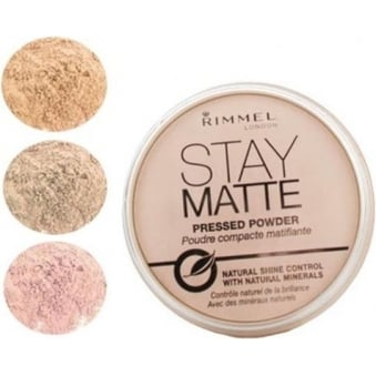 Stay Matte Long Lasting Pressed Powder