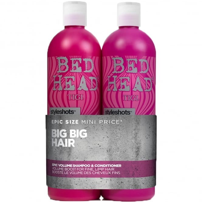 Tigi Styleshots Epic Volume Tween Shampoo & Conditioner Duo 2x 750ml