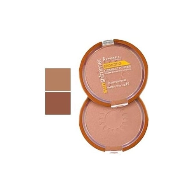 Rimmel Sunshimmer Bronzing Compact Powder 11g