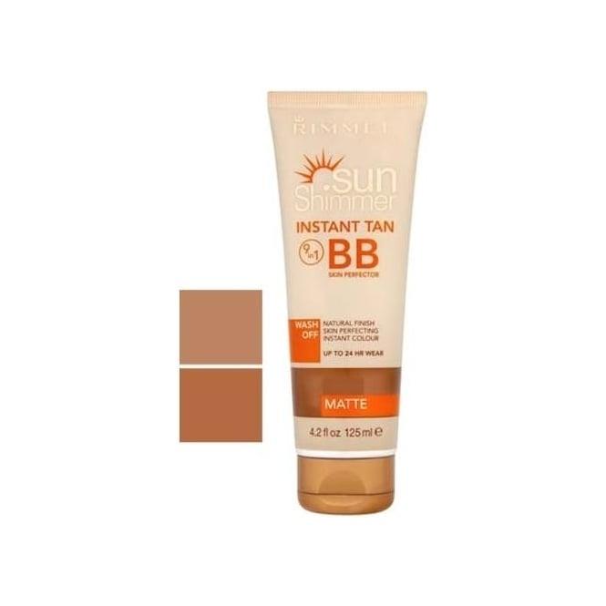 Rimmel Sunshimmer Instant Tan 9-in-1 BB 24hr Skin Perfector 125ml
