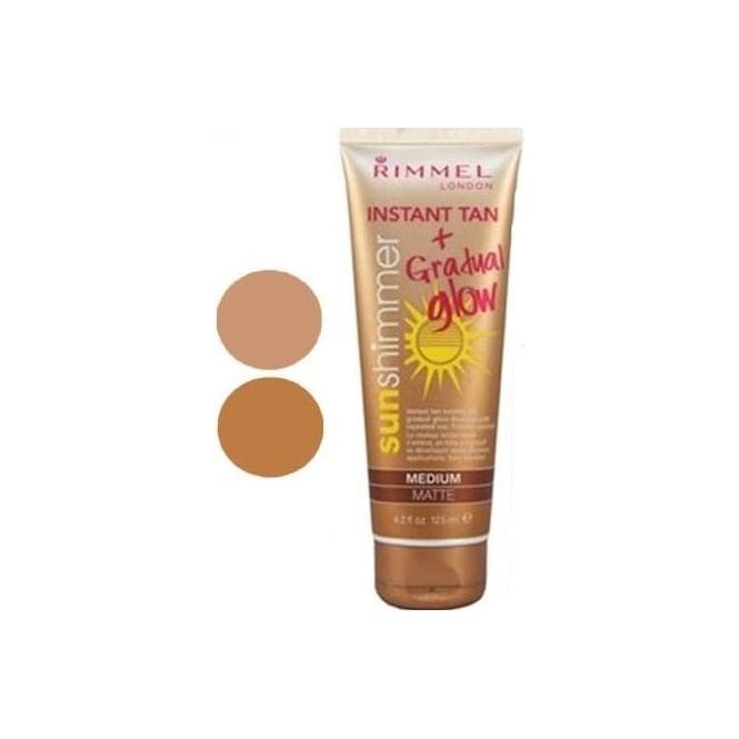Rimmel Sunshimmer Instant Tan & Gradual Glow 125ml