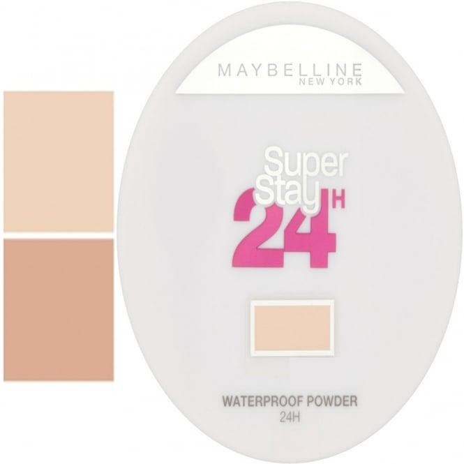 Maybelline Super Stay 24H Waterproof Powder for Flawless Coverage 9g