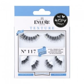 Texture Love It Try It No 117 Reusable Messed Up Eyelashes (Adhesive Included)