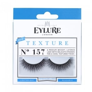 Texture No 157 Reusable Textured Finish Eyelashes (Adhesive Included)