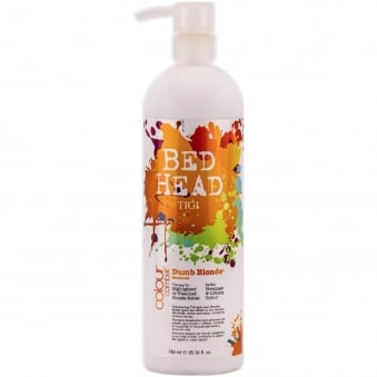 Bed Head - Colour Combat Dumb Blonde Shampoo 750ml