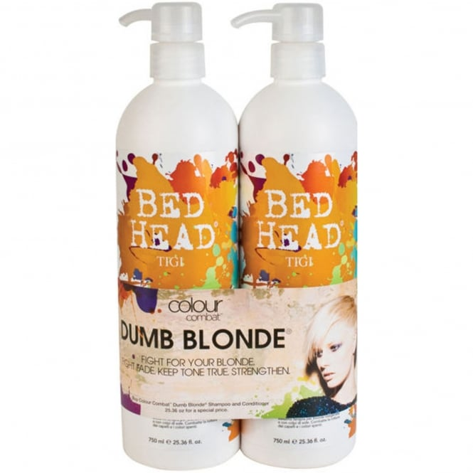 Tigi Bed Head - Colour Combat Dumb Blonde Tween Shampoo & Conditioner Duo 2x 750ml