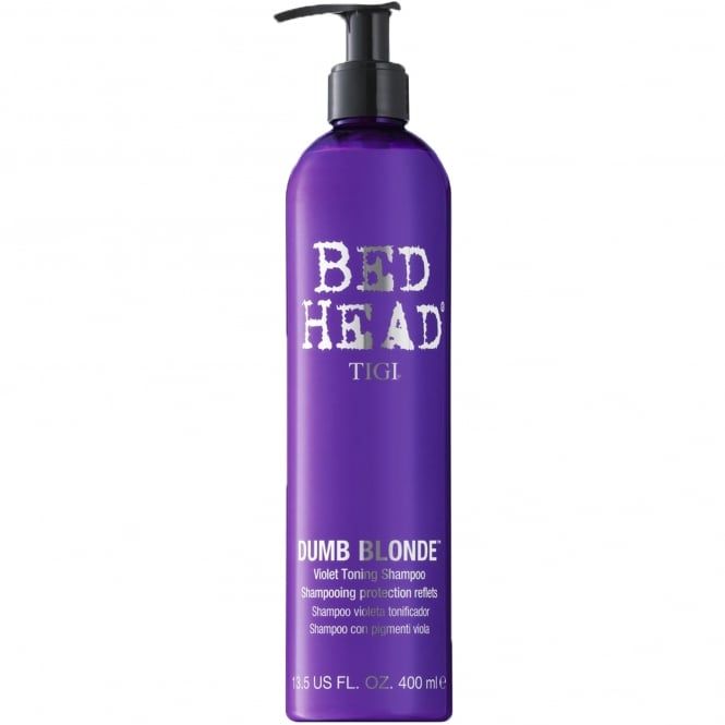 Tigi Bed Head Dumb Blonde - Purple Toning Shampoo 400ml
