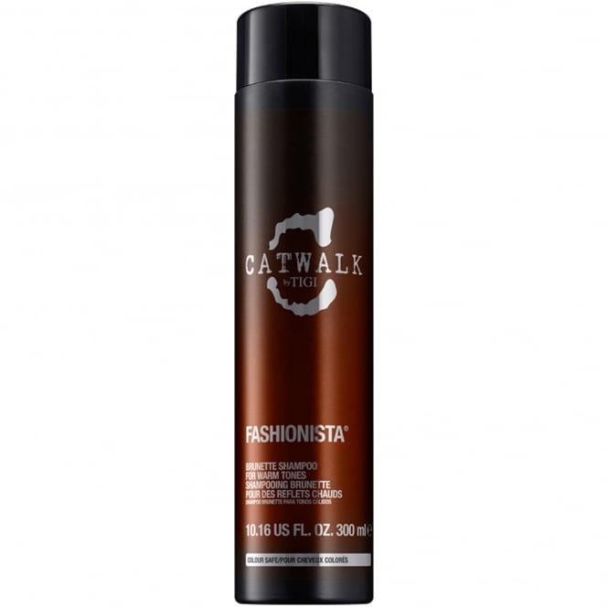 Tigi Catwalk - Fashionista Brunette Shampoo For Warm Tones 300ml