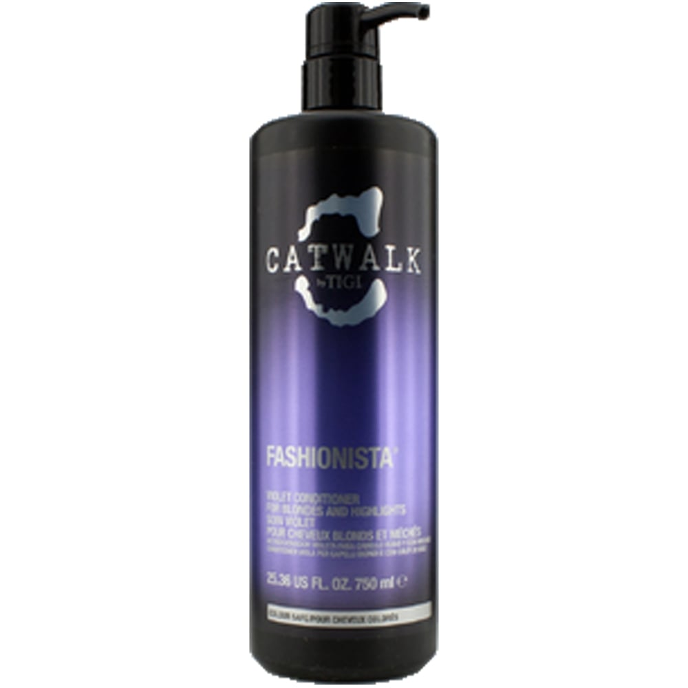 TIGI Catwalk  Fashionista Violet Conditioner For Blondes And Highlights 750ml