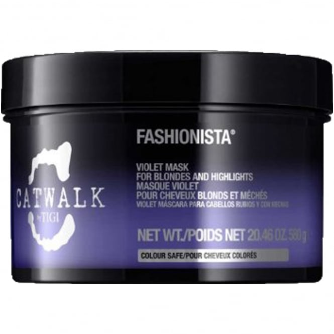 Tigi Catwalk - Fashionista Violet Mask For Blondes And Highlights 580g