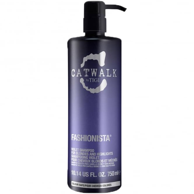 Tigi Catwalk - Fashionista Violet Shampoo for Blondes and Highlights 750ml
