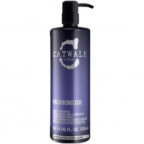 Catwalk - Fashionista Violet Shampoo for Blondes and Highlights 750ml