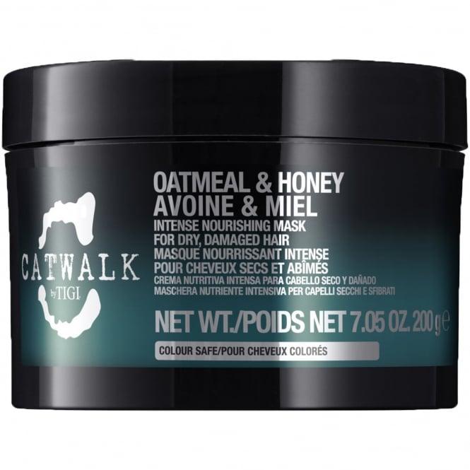 Tigi Catwalk - Oatmeal & Honey Intense Nourishing Mask For Dry, Damaged Hair 200g