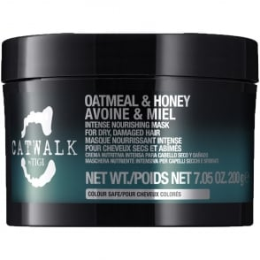Catwalk - Oatmeal & Honey Intense Nourishing Mask For Dry, Damaged Hair 200g