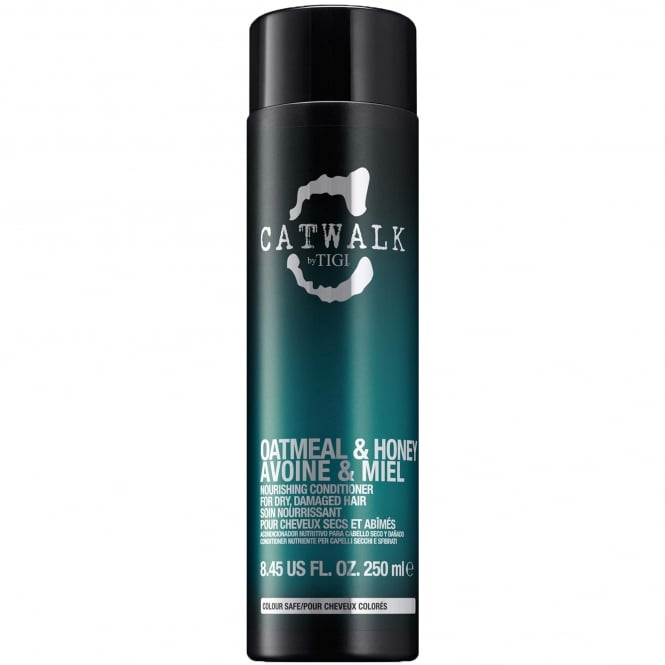 Tigi Catwalk - Oatmeal & Honey Nourishing Conditioner for Dry, Damaged Hair 250ml.