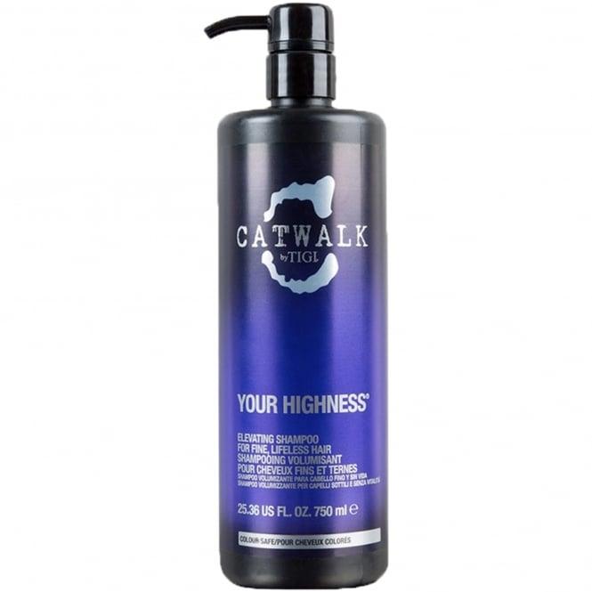 Tigi Catwalk - Your Highness Elevating Shampoo For Fine, Lifeless Hair 750ml