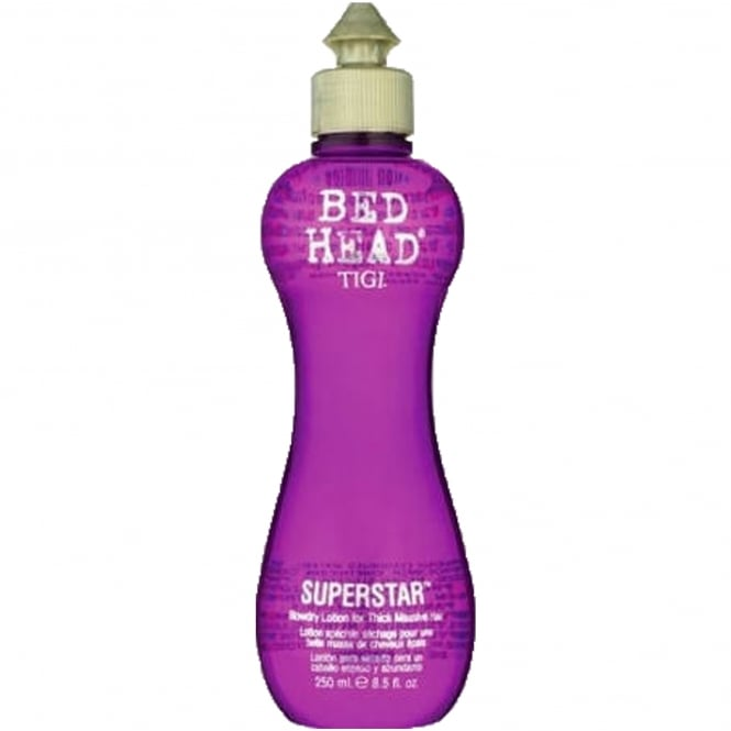 Tigi Superstar Blow Dry Lotion For Thick Massive Hair 250ml