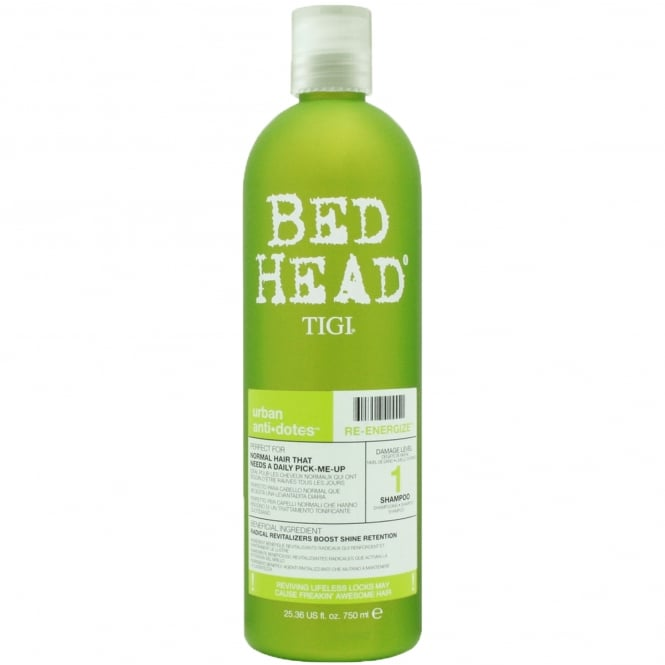 Tigi Urban Antidotes Re-Energize Shampoo (Damage Level 1) 750ml