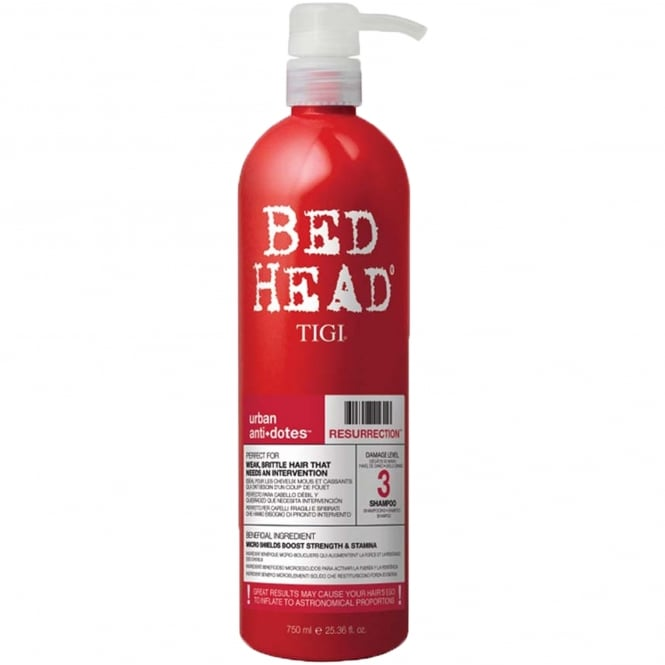 Tigi Urban Antidotes Resurrection Shampoo (Damage Level 3) 750ml
