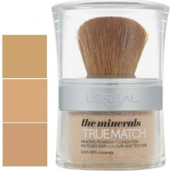 True Match The Minerals Powder Foundation