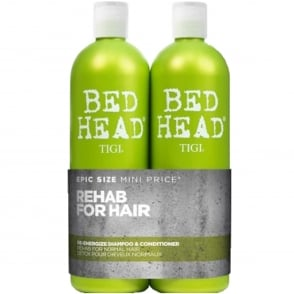 Urban Antidotes Re-Energize Tween Shampoo & Conditioner Duo (Damage Level 1) 2x 750ml