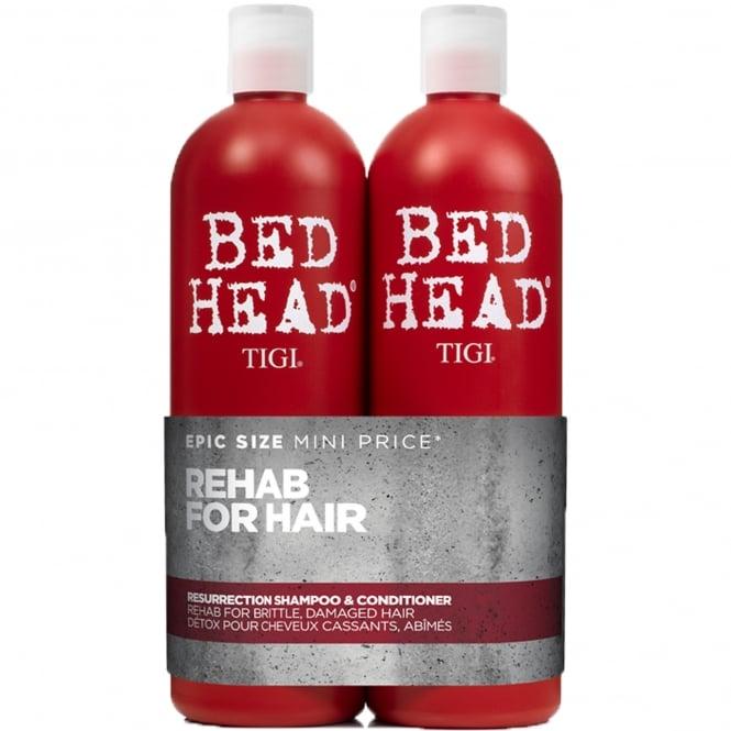 Tigi Urban Antidotes Resurrection Tween Shampoo & Conditioner Duo (Damage Level 3) 2x 750ml