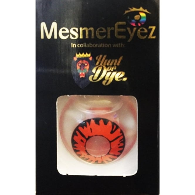 Mesmereyez - Hunt Or Dye Volturi Vampire Contact Lenses - 1 Day / Use Fancy Dress Accessories