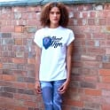 Hunt Or Dye White Unisex Baggy Fit T-Shirt (Exclusive Launch Price)