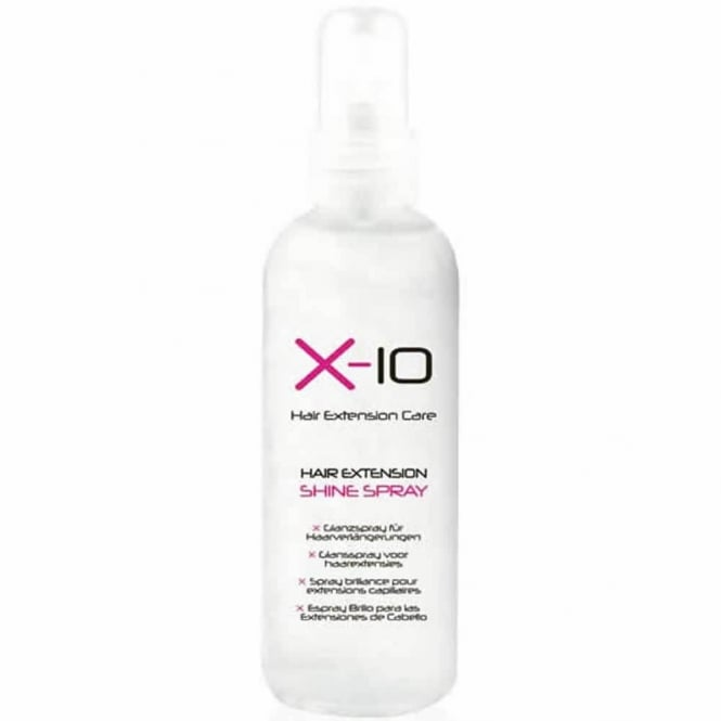 X-10 Hair Extension Care Shine Spray 125ml